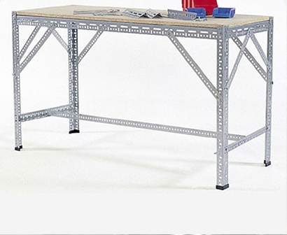 Slotted angle tables